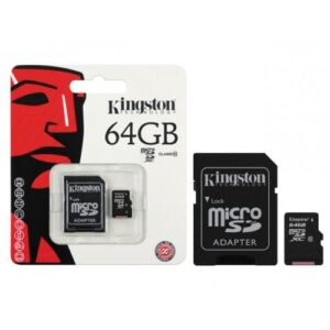 Kingston microSDHC 64GB Class 10