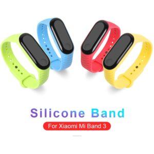 Ремешок силиконовый прозрачный Sikai для MI Band 3