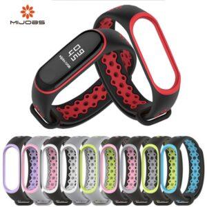 Ремешок силиконовый MiJobs для Mi Band 3 Sport strap