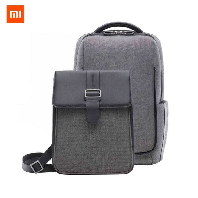 Рюкзак и сумка (2 в 1) Xiaomi Fashion Commuter Backpack Dark Grey