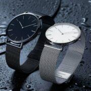 TwentySeventeen Lightweight ultra-thin Watch Black